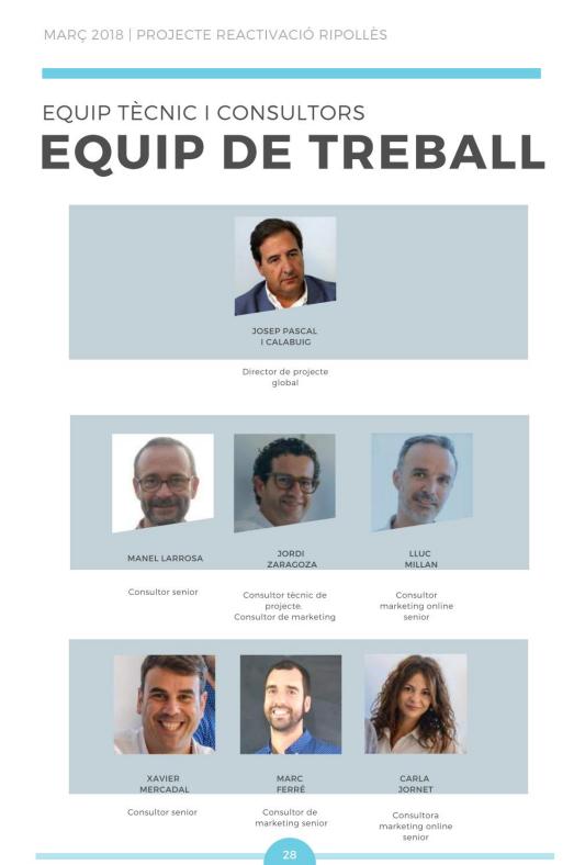Equip de treball Pymeralia al Ripollès: industria