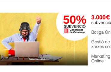 Subvencions generalitat de catalunya 2018 pagina web botiga online